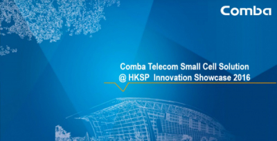 Comba Telecom Small Cell Solution Intro @HKSTP